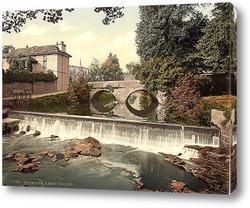 Постер Аббатство, Тависток, Англия. 1890-1900 гг
