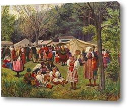 Постер Деревня фестиваль в г. Пльзень