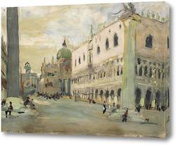 Картина Венеция. Площадь Сан-Марко