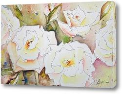 Картина Цветение роз