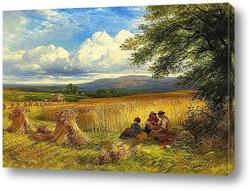 Картина Урожай.Отдых