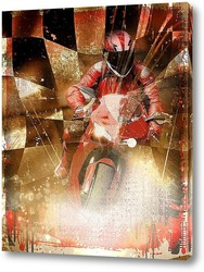 Постер Спорт.Мотогонки