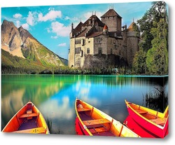 Постер Шильонский замок