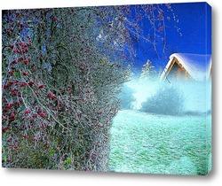 Картина Зимние ягоды.