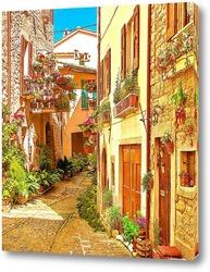 Постер Провинциальная архитектура Италии