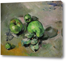 Постер Зеленые яблоки