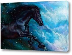 Постер Конь-ночь