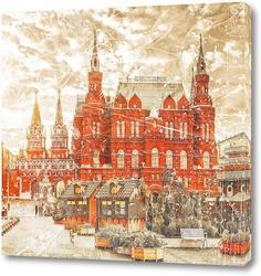 Постер Манежная площадь