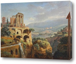 Неаполь. Вид на Дарсена делле Галере