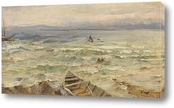 Картина Боденское озеро