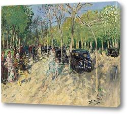 Весна в лесу, 1929