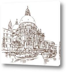 2 gondolas. Ponte del Mondo Novo, Campo S.Maria Formosa. Venice,