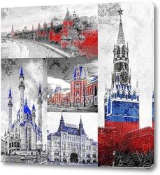 Постер Тур по России