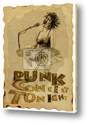 Картина Панк и альтернатива