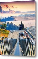Постер Рассвет в долине