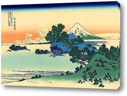 Вид на Фудзи из Каная, на дороге Токайдо