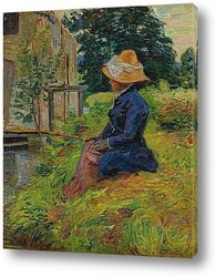 Картина Мадам Гийомен,рыбалка