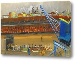 Постер Бразилия. 1936