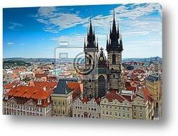 Bateau sur la Vltava Г Prague