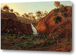Картина Водопад на реке Клайд.Тасмания