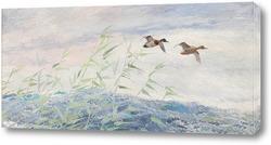 Картина Летящие утки