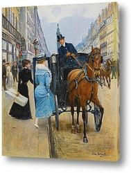 Постер Торговая улица