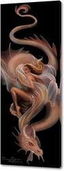 Постер Девушка и дракон