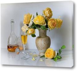 Постер Про жёлтые розы