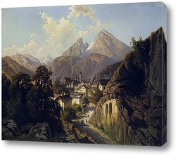 Вид на замок Оберхофен