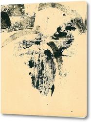 Постер апрель. абстракция