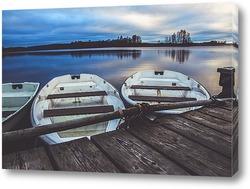 Картина Лодки