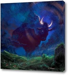 Постер Лунные рога