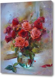 Rosen, Blumen und Diamanten, quer