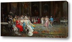 Постер Дворцовые танцы, 1894