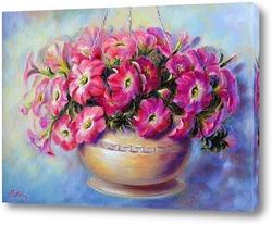 Картина Розовая петунья