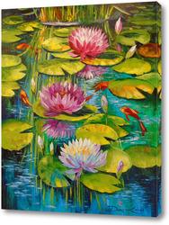 Картина Очаровательный пруд