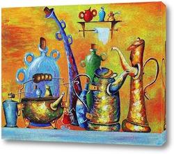 Картина    Чай, кофе, потанцуем,