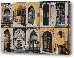 Картина Двери
