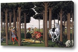 Картина История Настаджио дельи Онести (II)