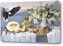 Картина Десерт с орланом