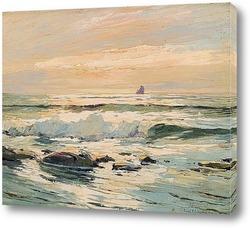 Картина Освещенные солнцем воды