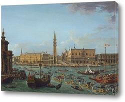 Шествие во дворе Дворца дожей, Венеция