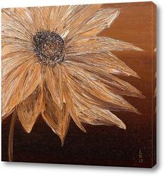 Картина Цветок в сепии