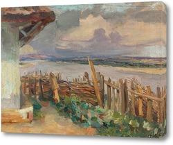 Картина Вид на реку
