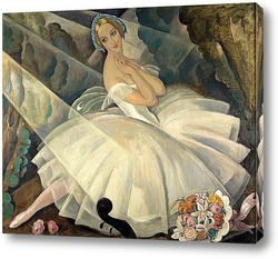 Постер Танцовщица балет Шопениана