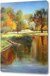 Картина Осень под Питером