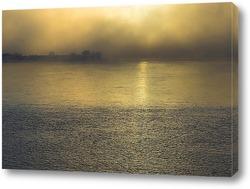 Постер Туманный закат