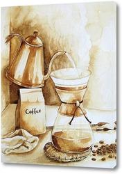 Картина Кофе по-итальянски