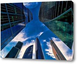 Постер Небо и небоскребы-5