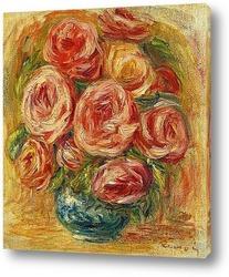 Постер Ваза с розами